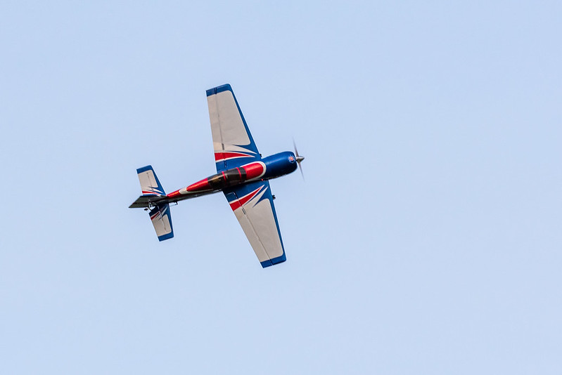 Nathan with the Pilot-RC Yak 54.