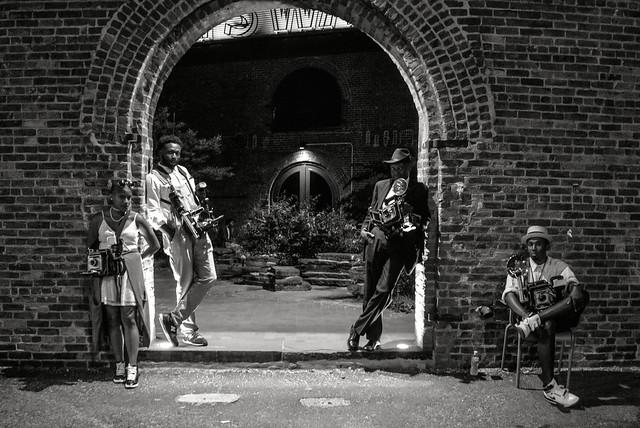 Four Old School Photographers