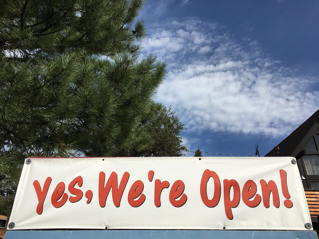 Open As in Yes