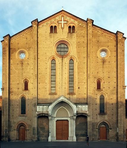 Facciata della chiesa di San Francesco - Bologna ...