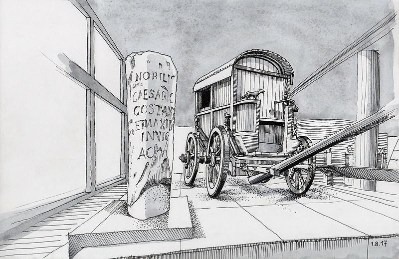 Römischer Reisewagen / Roman Traveling Coach