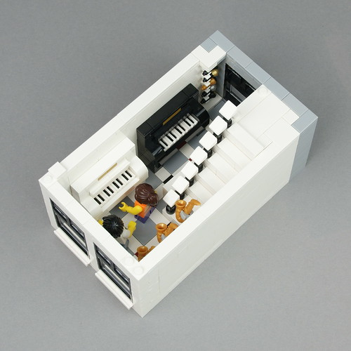 LEGO Modular Buildings: Flower Shop And Music Store | by Palixa And The Bricks
