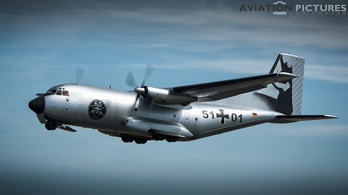 German Air Force Transall C-160D 51+01