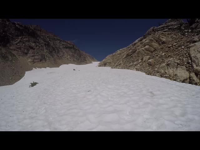 4923 GoPro video panorama of the Spider Glacier