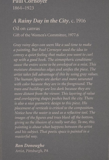 Museum Placard for