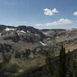 Micah Lake (L) and Lake Solitude (R)