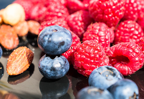 Staying Healthy - Berries and nuts every day | by Maria Eklind