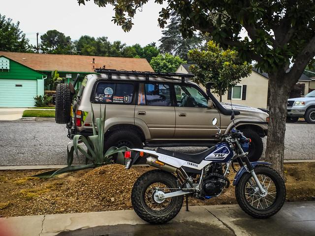 ADV80 - Yamaha TW200 Big Bear Ride August 20th, 2017