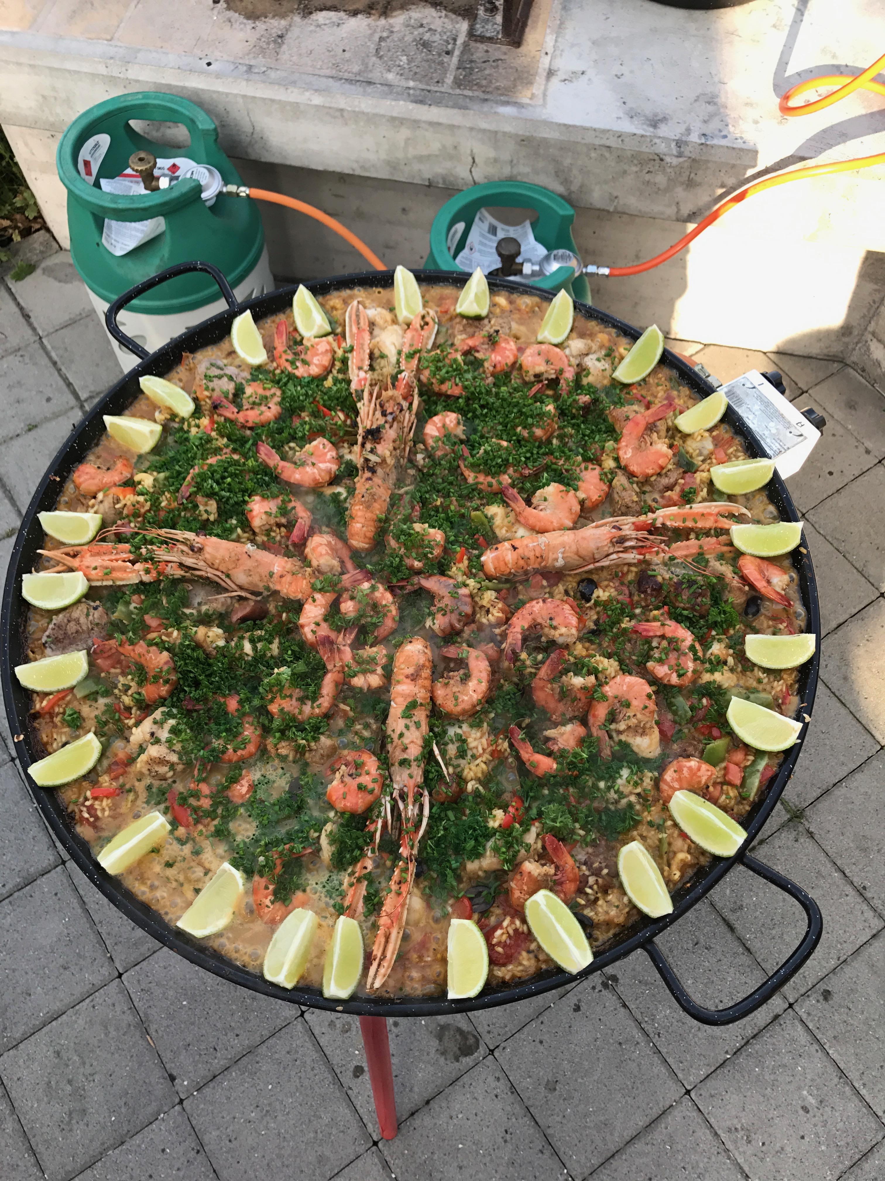 Paellaessen 2017