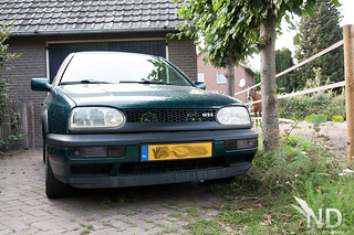 VW Golf MK3 GTI - Dual Green Hella Style Horns | by ND-Photo.nl
