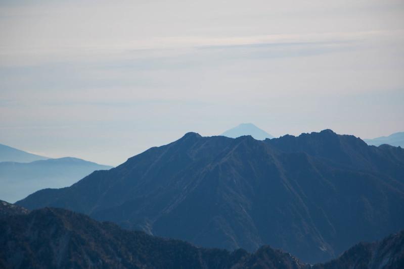 立山から富士山