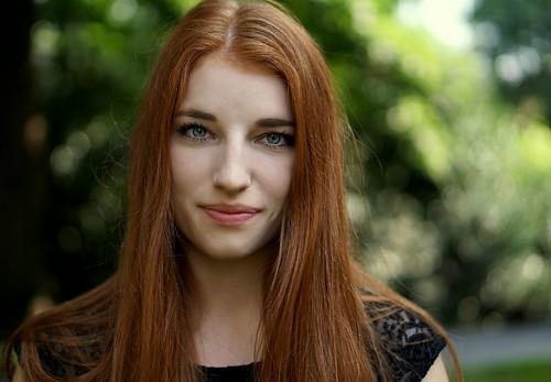 girl Redhead german