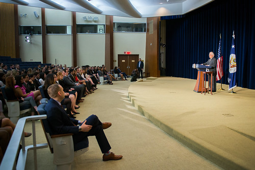 Secretary Tillerson Addresses State Department Student Programs and Fellowships Participants   by U.S. Department of State
