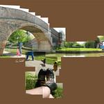 Rainbow Bridge No.62 #grandunioncanal #bridge #rainbowlaces #canal #foxtonlocks