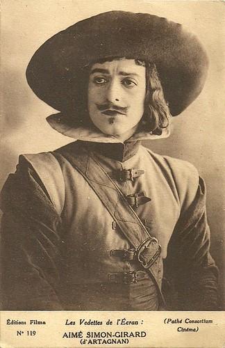 Aimé Simon-Girard in Les trois mousquetaires (1921)
