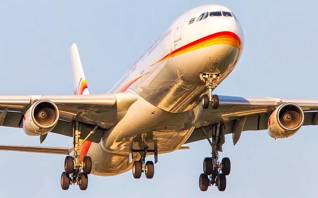 Surinam Airways Airbus A340-300 PZ-TCR