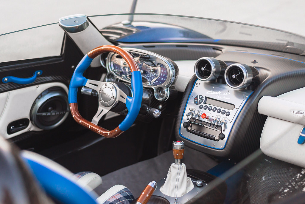 Pagani Zonda Hp Barchetta Interior Pagani Zonda Hp Barchet Flickr