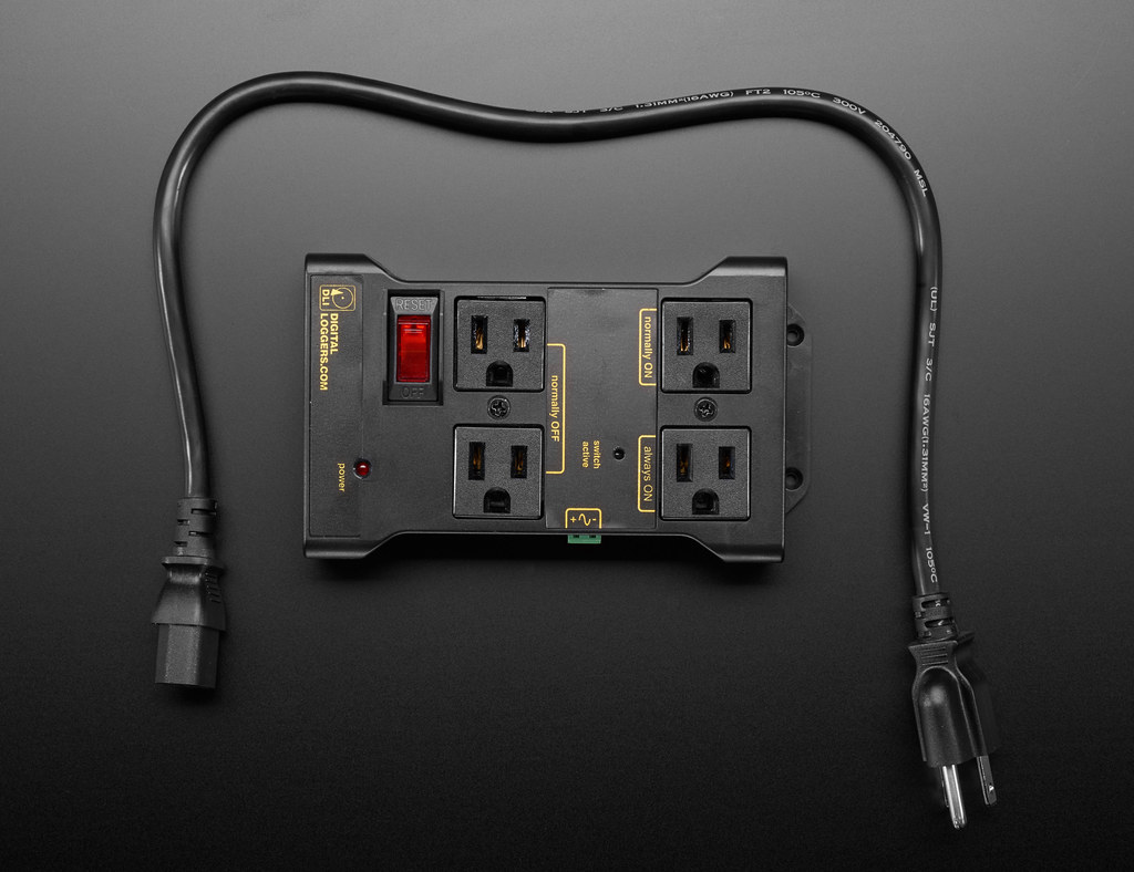Controllable Four Outlet Power Relay Module version 2 - (P… | Flickr
