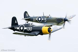 Supermarine Seafire LF III PP972/G-BUAR Air Leasing Ltd Duxford 23/09/17 | by Shaun Schofield