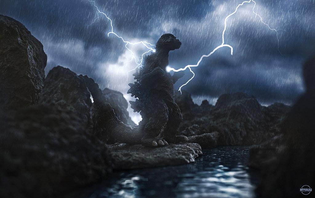 Godzilla 1974   Bandai Yuji Sakai Godzilla 1974 (John ...