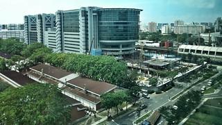 Singapore General Post Office / Paya Lebar new wing under construction