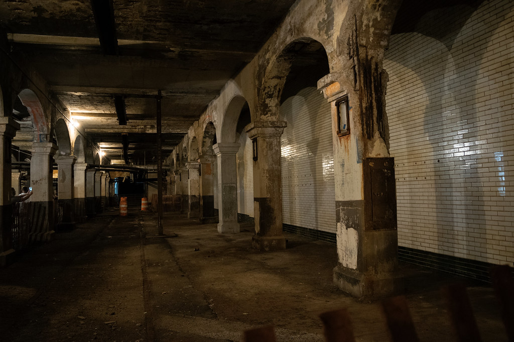 Former Train Station In Cleveland Ohio Sits An