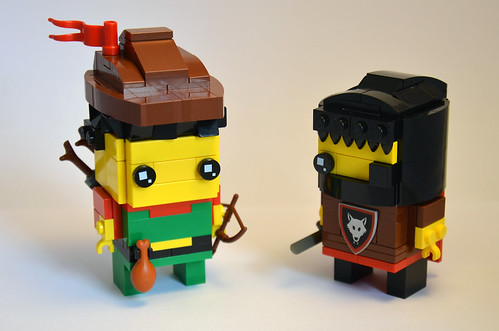 Forestman and Wolfpack Brickheadz | by IamKritch