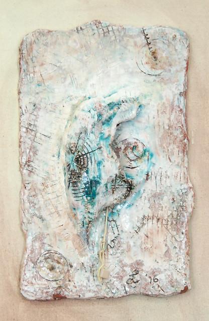 Leonnie van Eert, 'Fin-fini 2', ceramic relief, 20x32x3cm, 2016 - USD 150