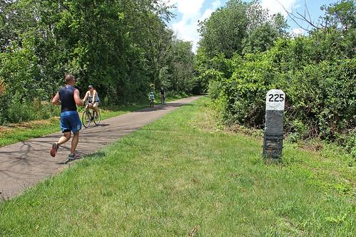 erierailroad abandonedrailroads waynecountyohio bikers hikers joggers mileposts conrail sterlingohio trails railstotrails