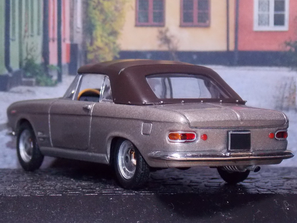Fiat 2300 S Cabriolet – 1962