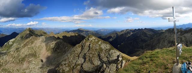 La Valle Strona dalla Cima Capezzone