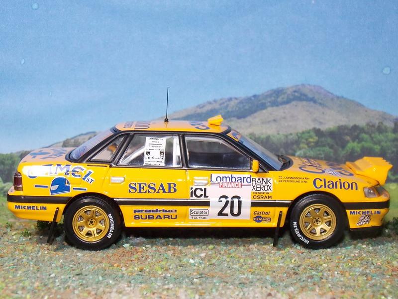 Subaru Legacy RS – RAC 1992