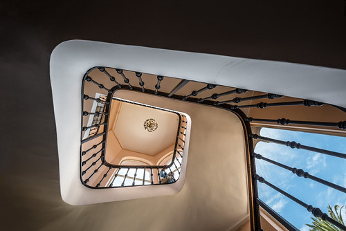 nikon d810 15mm wideangle weitwinkel treppe stairs architektur