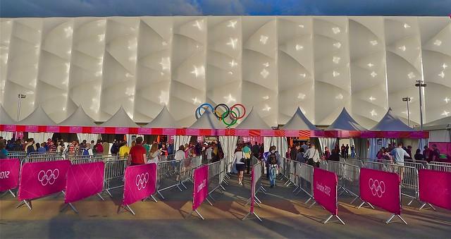 London 2012 Olympics, Basketball Arena, Stratford, July 2012