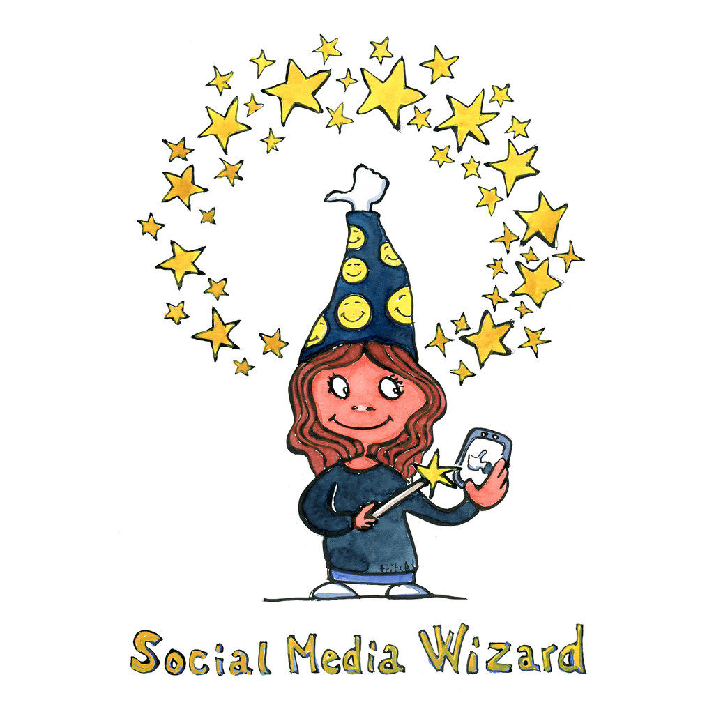 Image result for social media wizard