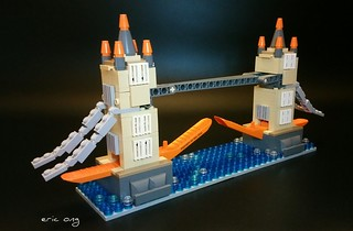 My second build for the brick  separator challenge.  The Kayu Kingdom Tower Bridge  #KayuBrickSeparator | by eric_ong_ls