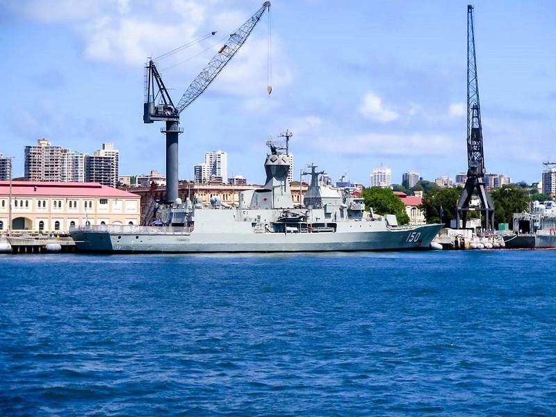 HMAS Anzac (FFH 150) 1
