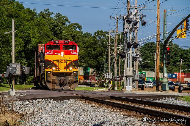 KCS 4162 | EMD SD70ACe | NS Memphis District