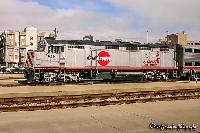 JPBX 920 | EMD F40PH-2C | CalTrain Penisula Subdivision