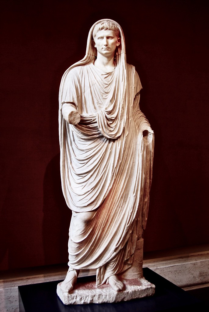 Image result for Augustus statue Palazzo massimo