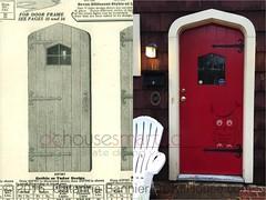 1929 Sears Tudor-style door