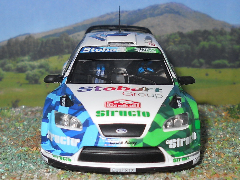 Ford Focus RS WRC – Montecarlo 2008