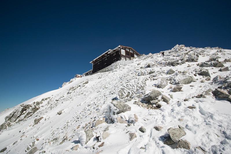 立山頂上 雄山神社