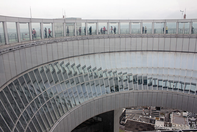 Reflections On The Viewing Gallery Windows