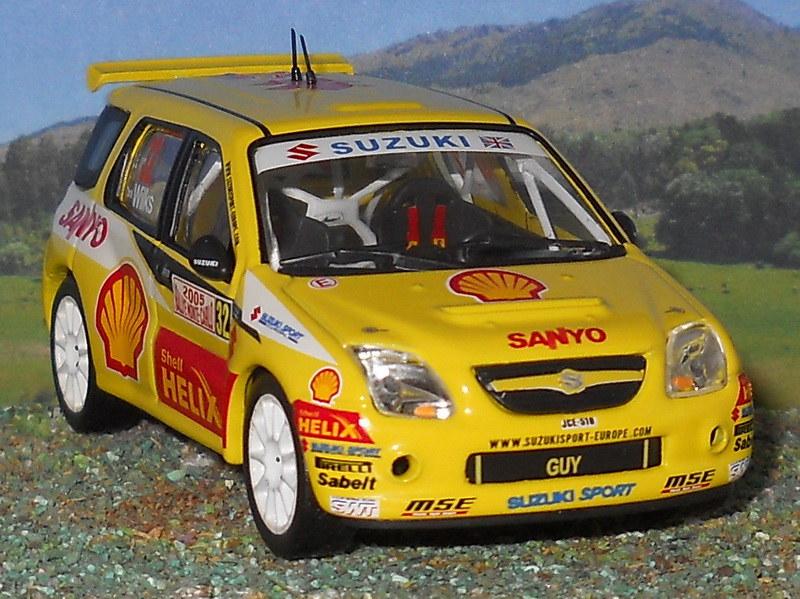 Suzuki Ignis JWRC – Montecarlo 2005