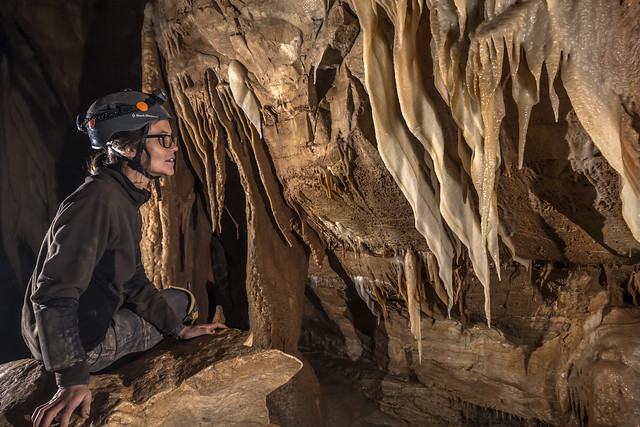 Stacey Clark, Cathedral Room, Blue Spring Cave, White County, Tennessee 1