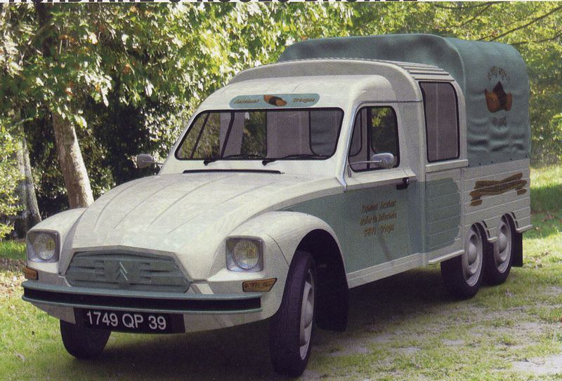 Citroën Acadiane Bache 6 roues – 1990
