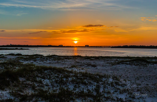 onfire sunny sand landscape sunset pensacola glory canont5i weather orange intercoastal sun blue ocean lagoon johnsonbeach clouds coastal florida sky seascape biglagoon fire perdidokey perdido unitedstates us