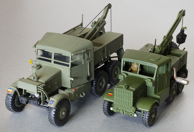 Scammell REME Recovery Vehicles
