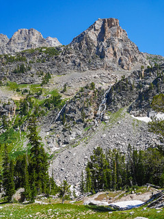 Waterfalls in South Fork of Cascade Canyon   by snackronym